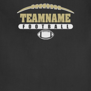 Team name foot ball - Adjustable Apron