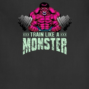 Train like a monster - Adjustable Apron
