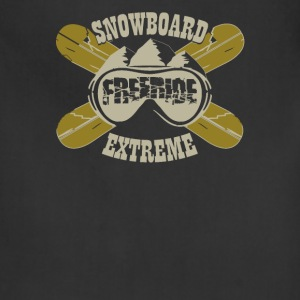 Snowboard freeride extreme - Adjustable Apron