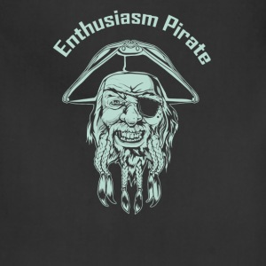 Enthusiasm Pirate - Adjustable Apron