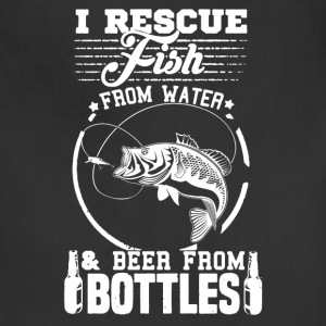Rescue Fish Shirt - Adjustable Apron
