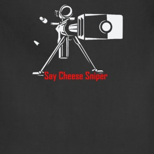 Say Cheese Sniper - Adjustable Apron