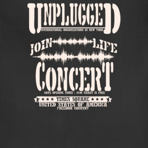 Unplugged join life concert - Adjustable Apron