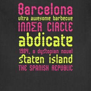 Barcelona ultra awesome barbecue - Adjustable Apron
