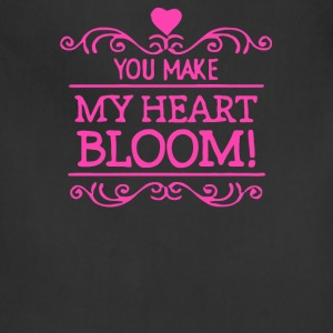You make My Heart Bloom - Adjustable Apron