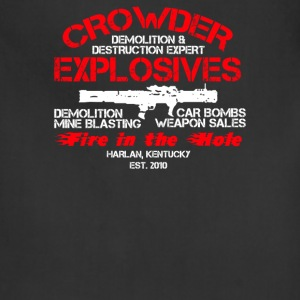 Crowder Explosives Justified - Adjustable Apron