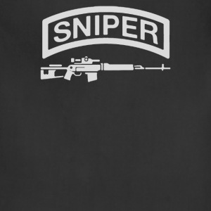 Sniper Rifle firearms Logo - Adjustable Apron
