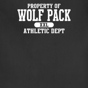 Property of Wolf Pack Athletic - Adjustable Apron