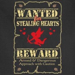 Wanted For Stealing Hearts - Adjustable Apron