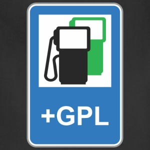 Road_sign_gas_station_green_gpl - Adjustable Apron