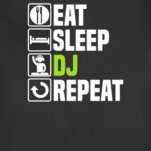 Eat Sleep DJ - Adjustable Apron