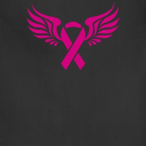 BREAST CANCER RIBBON WITH WING - Adjustable Apron