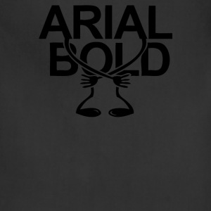 Arial Bold - Adjustable Apron