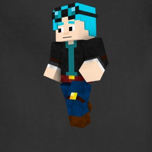 dantdm and the enchanted crystal - Adjustable Apron