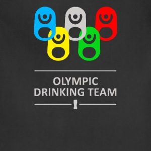 Olympic drinking team - Adjustable Apron