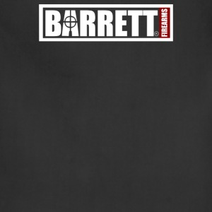 Barrett Sniper Rifle Firearms Army Weapon Logo - Adjustable Apron