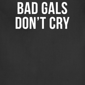 BAD GIRLS DONT CRY HALTER TOP CROP - Adjustable Apron