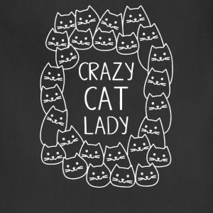 Crazy Cat Lady 2 - Adjustable Apron