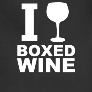 I Drink Boxed Wine - Adjustable Apron