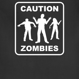 Caution Zombies - Adjustable Apron