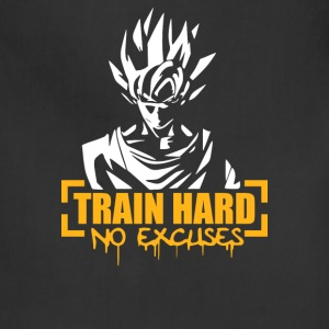 Goku Train Hard No Excuses - Adjustable Apron