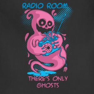 ghost and radio - Adjustable Apron