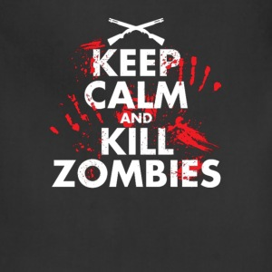 Keep Calm and Kill Zombies - Adjustable Apron