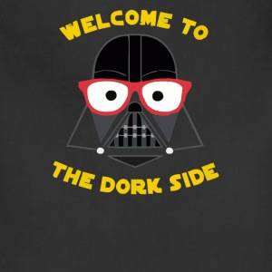 wellcome to the dork side - Adjustable Apron