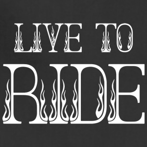 LIVE TO RIDE - Adjustable Apron