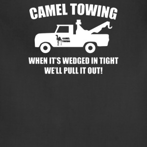 Camel Towing Funny - Adjustable Apron