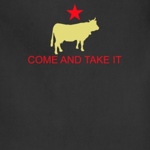 Come And Take It Cow - Adjustable Apron