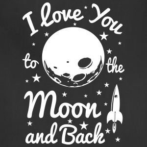I Love You To The Moon - Adjustable Apron