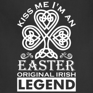 Kiss Me Im An Easter Original Irish Legend - Adjustable Apron