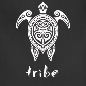 Tribe (Hawaii #2 in White) - Adjustable Apron