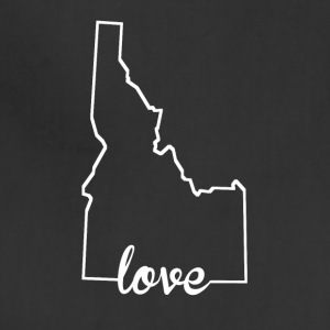 Idaho Love State Outline - Adjustable Apron