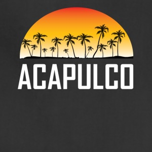 Acapulco Mexico Sunset And Palm Trees Beach - Adjustable Apron