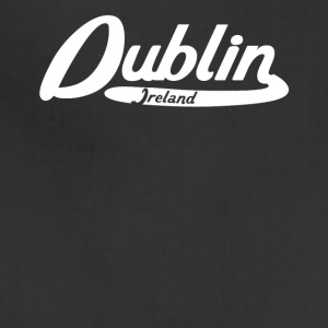 Dublin Ireland Vintage Logo - Adjustable Apron