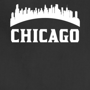 Vintage Style Skyline Of Chicago IL - Adjustable Apron