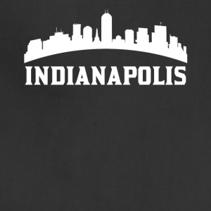 Vintage Style Skyline Of Indianapolis IN - Adjustable Apron