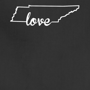 Tennessee Love State Outline - Adjustable Apron