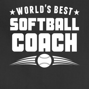 World's Best Softball Coach - Adjustable Apron