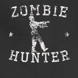 Vintage Zombie Hunter Zombie Silhouette - Adjustable Apron