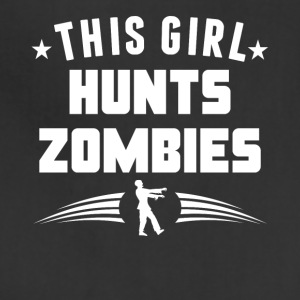 This Girl Hunts Zombies Funny Zombie - Adjustable Apron