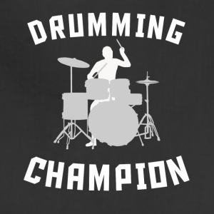 Drumming Champion Cool Drummer Silhouette Music - Adjustable Apron