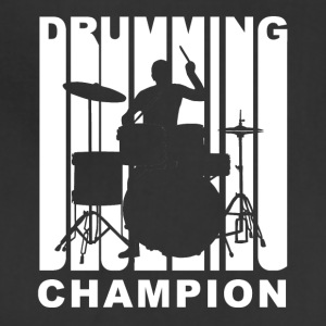 Vintage Style Drumming Champion Retro Drummer - Adjustable Apron