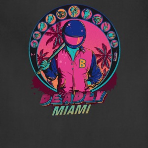 Deadly Miami, Inspired by Hotline Miami - Adjustable Apron