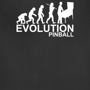 Evolution Of Man From Ape To Pinball - Adjustable Apron