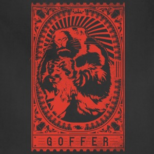goffer_red - Adjustable Apron