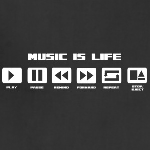 MuSiC iS LiFe - Adjustable Apron