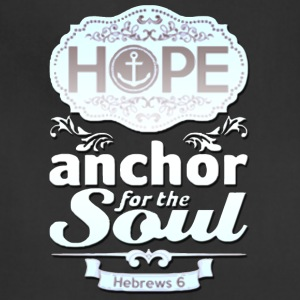 Hope Anchor for the Soul - Adjustable Apron